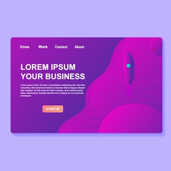 Startup business web design