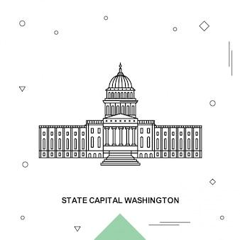 State capital washington
