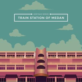 Stazione ferroviaria di medan