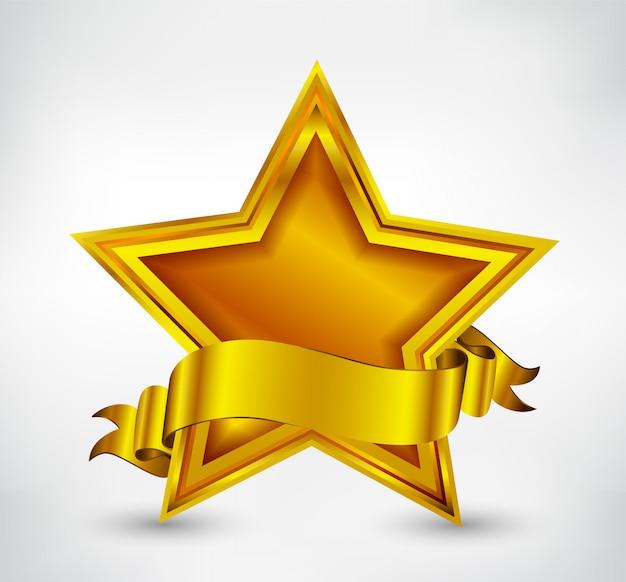 Stella d'oro di lusso