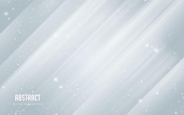 Stella e cristallo astratti del fondo con blu e bianco variopinti. moderno minimal eps 10