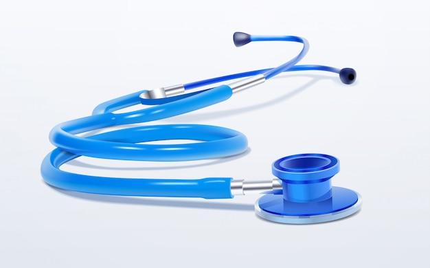 Stetoscopio strumento medico realistico