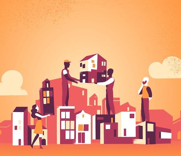 Stiamo progettando la nostra città per un domani migliore