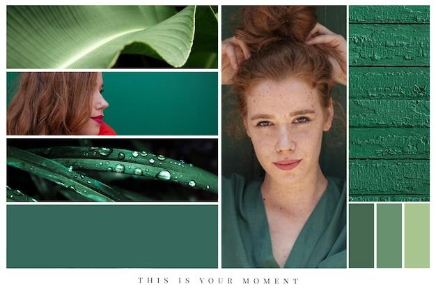 Stile collage di foto