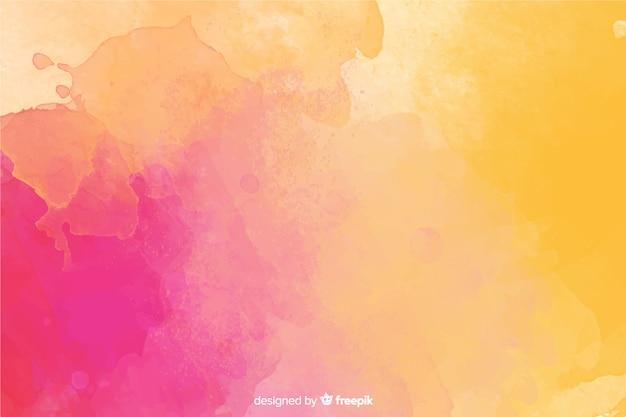 Stile dell'acquerello di sfondo dipinto a mano