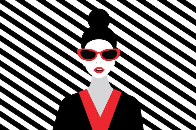 Stile di moda donna