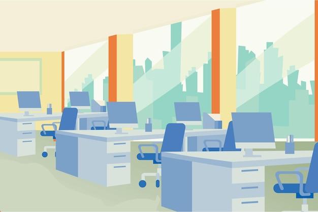 Stile di sfondo dell'ufficio