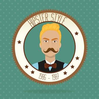 Stile di vita hipster e accessori moda