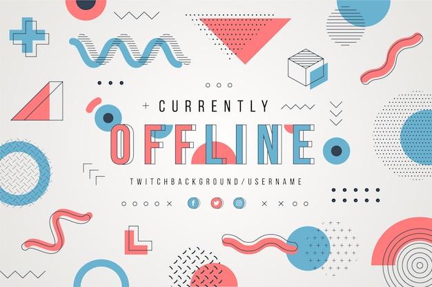 Stile mephis flusso twitch offline