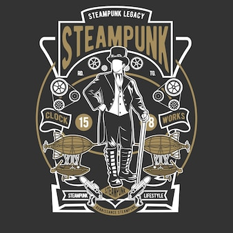 Stile steampunk
