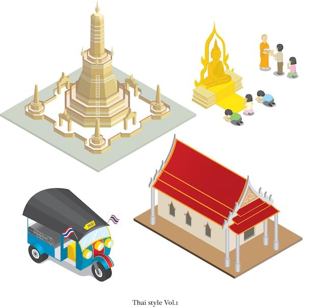 Stile tailandese