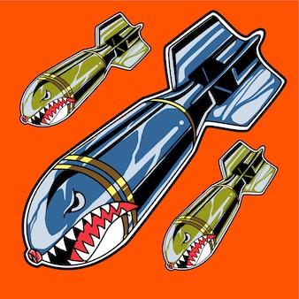 Stock di bombe di squalo