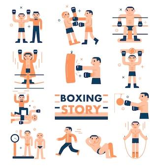 Storia di boxe