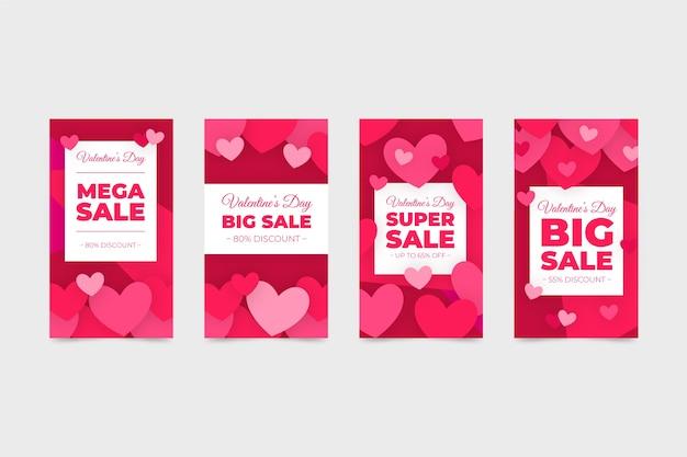 Storia di vendita collezione di san valentino
