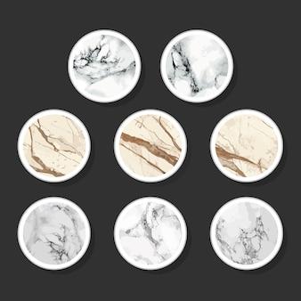 Storie di marmo su instagram design highligts