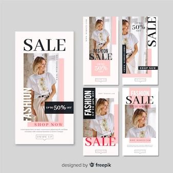 Storie di moda in vendita con foto
