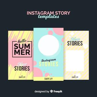 Storie di vendita estiva di instagram