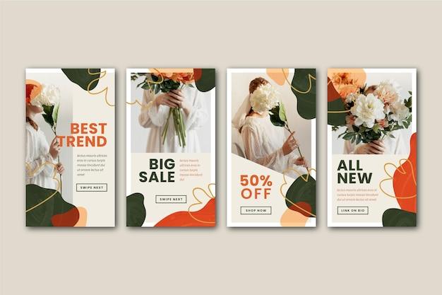 Storie ig di vendita organiche