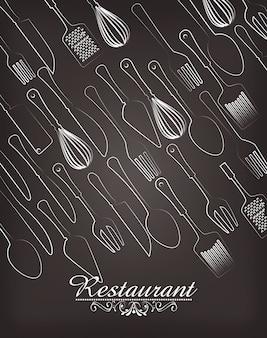 Stoviglie da ristorante e da cucina