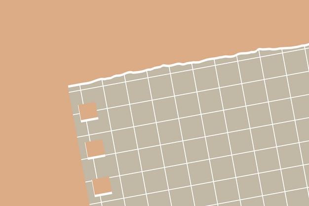 Strappato sfondo di carta nota