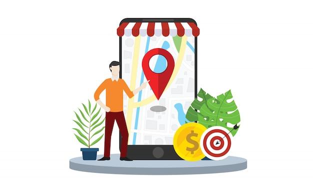 Strategia di mercato locale seo