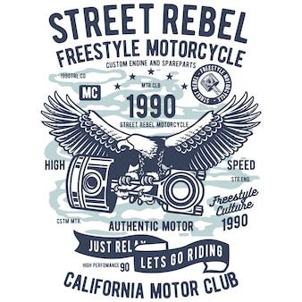 Street rebel motorcycle