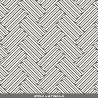 Stripes pattern in op stile art
