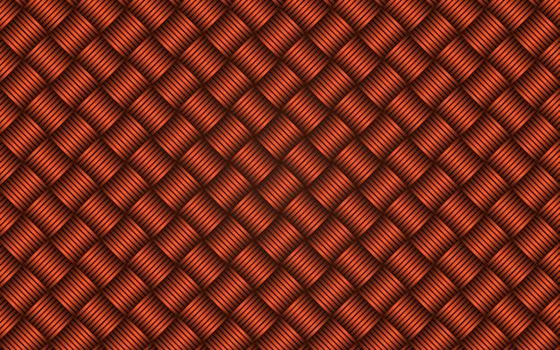 Strisce diagonali astratte fondo senza cuciture arancio