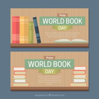 Striscioni giorno del mondo