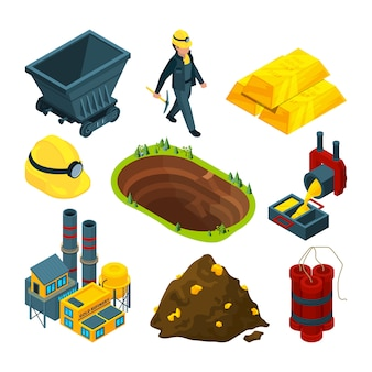 Strumenti isometrici per l'industria mineraria