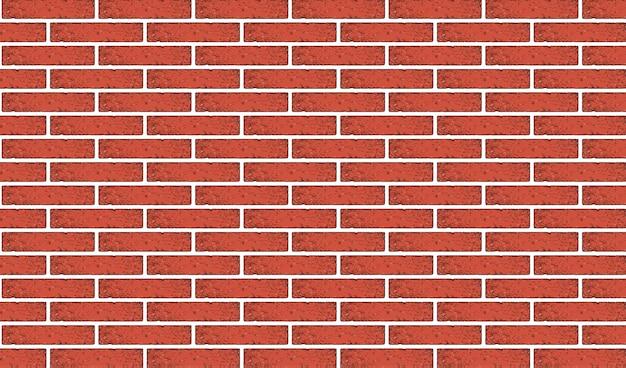 Struttura antica del muro di mattoni rossi