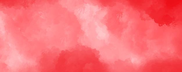 Struttura astratta dell'acquerello rosso
