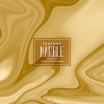 Struttura astratta di marmo liquido dorato