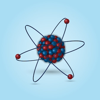 Struttura atomica 3d