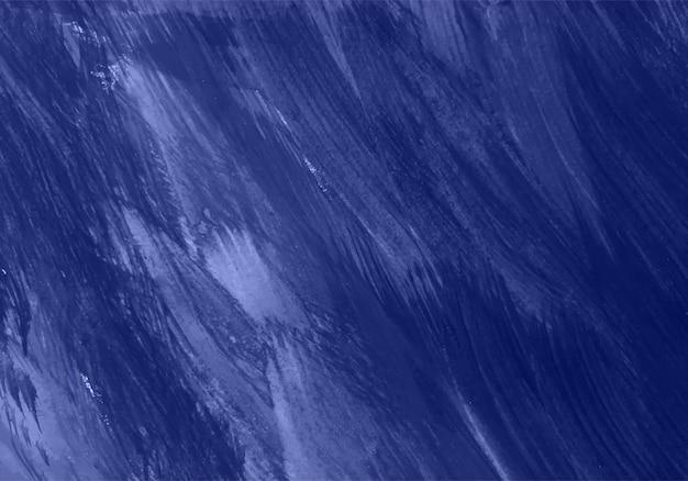 Struttura blu dipinta a mano astratta