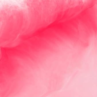 Struttura del fondo di acquerello rosa
