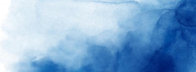 Struttura dell'acquerello blu scuro di superficie astratta