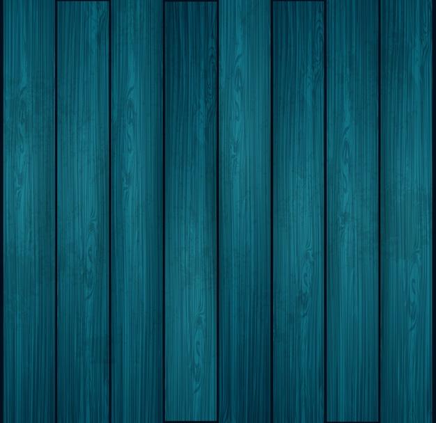 Struttura di legno blu