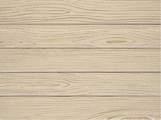 Struttura di legno crema con vecchio vettore di tavole di pino verniciato