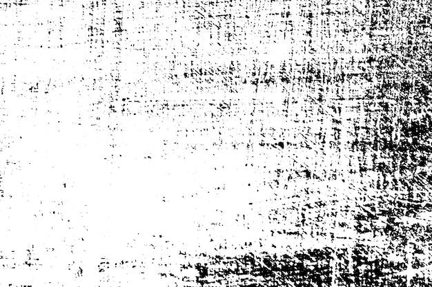 Struttura in bianco e nero di lerciume. sovrapposizione di polvere scura e disordinata in difficoltà.