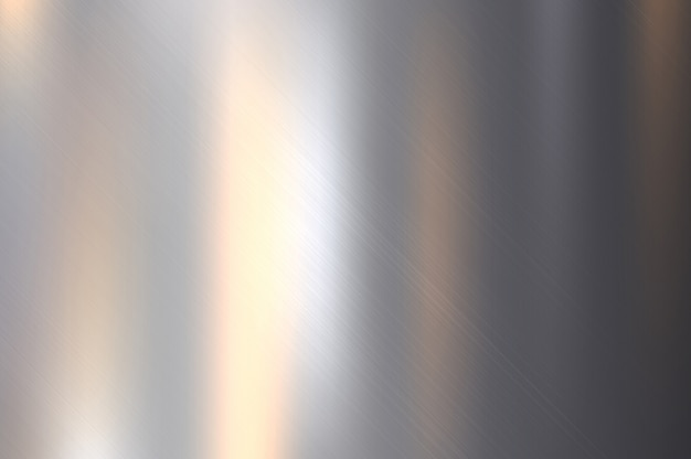 Struttura in metallo, acciaio inossidabile con riflessione
