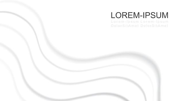 Struttura liscia di sfondo raso di seta bianca