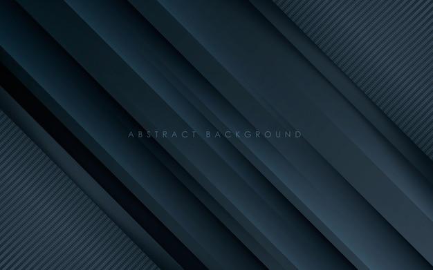 Struttura moderna della diagonale del fondo astratto nero
