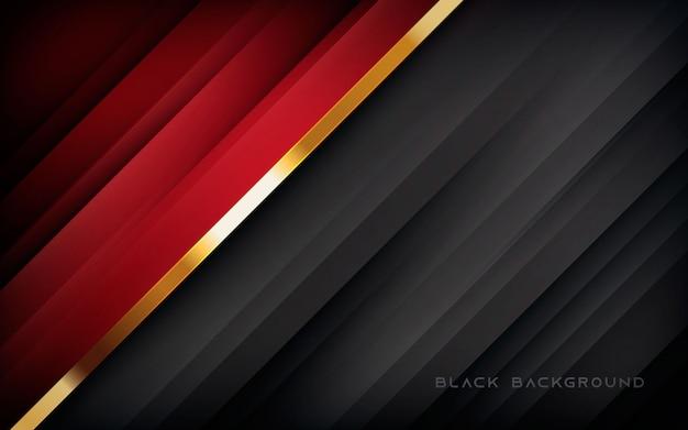 Struttura rossa e nera della diagonale del fondo astratto