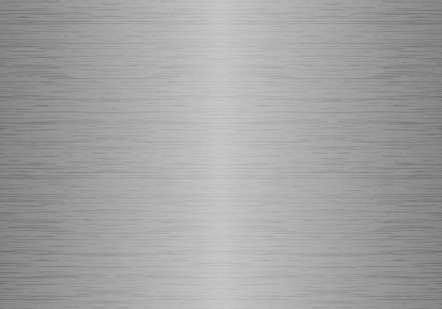 Struttura senza giunte del metallo lucido. sfondo in alluminio spazzolato