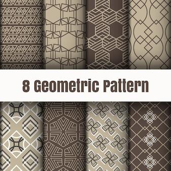 Strutture della superficie del fondo della carta da parati geometrica del modello
