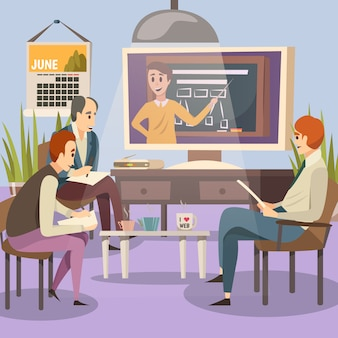 Studenti sulla formazione online