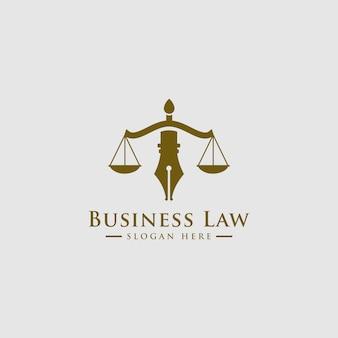 Studio legale, servizi di avvocato, logo di lusso vintage crest