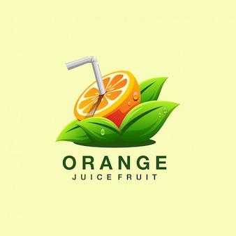 Succo logo design vettoriale illustratore