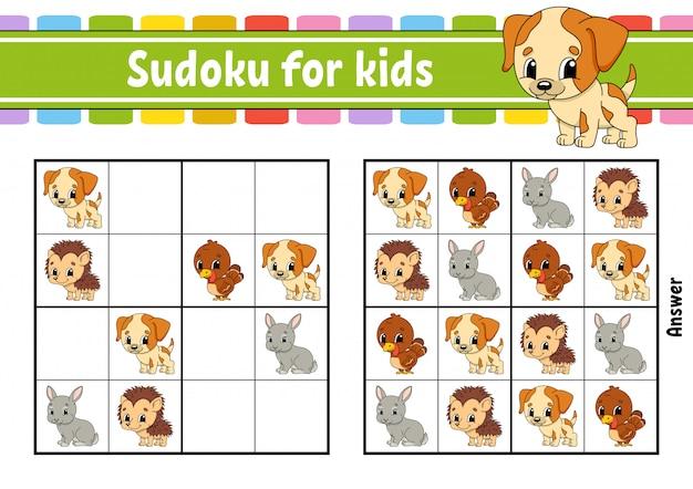 Sudoku per bambini.